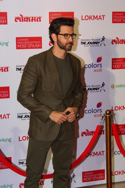 Mumbai:  Actor Hrithik Roshan during the Lokmat Maharashtra Most Stylish Awards in Mumbai on Jan 31, 2017. (Photo: IANS)