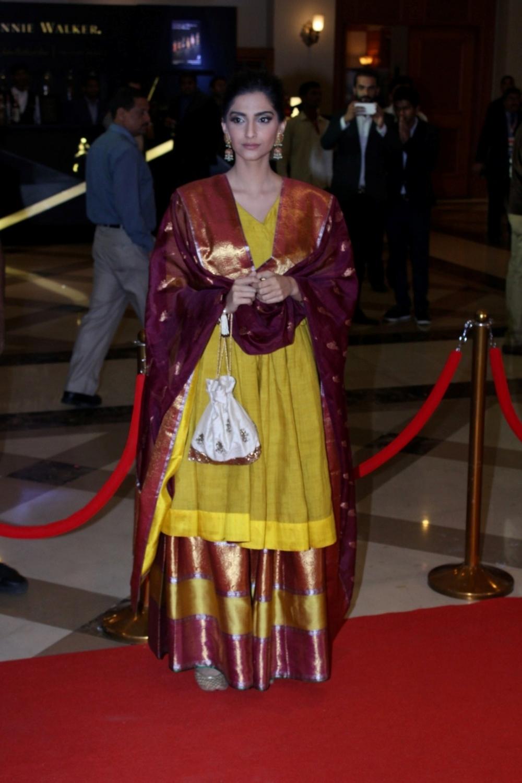 Mumbai:  Actress Sonam Kapoor during the Lokmat Maharashtra Most Stylish Awards in Mumbai on Jan 31, 2017. (Photo: IANS)