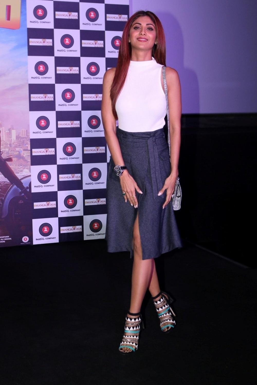 Mumbai:  Actress Shilpa Shetty during the trailer launch of film Aa Gaya Hero in Mumbai on Feb 1, 2017. (Photo: IANS)