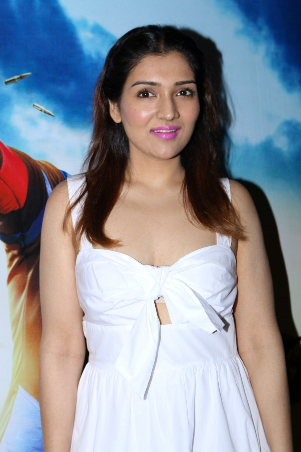 Mumbai:  Actor and Govinda's daughter Tina Ahuja during the trailer launch of film Aa Gaya Hero in Mumbai on Feb 1, 2017. (Photo: IANS)