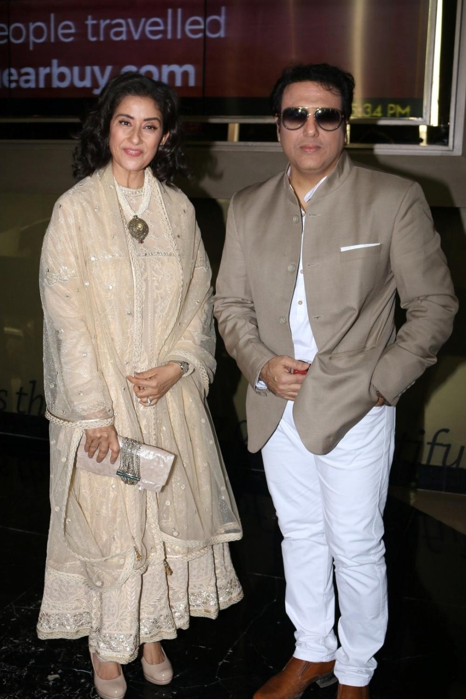 Mumbai:  Actors Govinda and Manisha Koirala during the trailer launch of film Aa Gaya Hero in Mumbai on Feb 1, 2017. (Photo: IANS)
