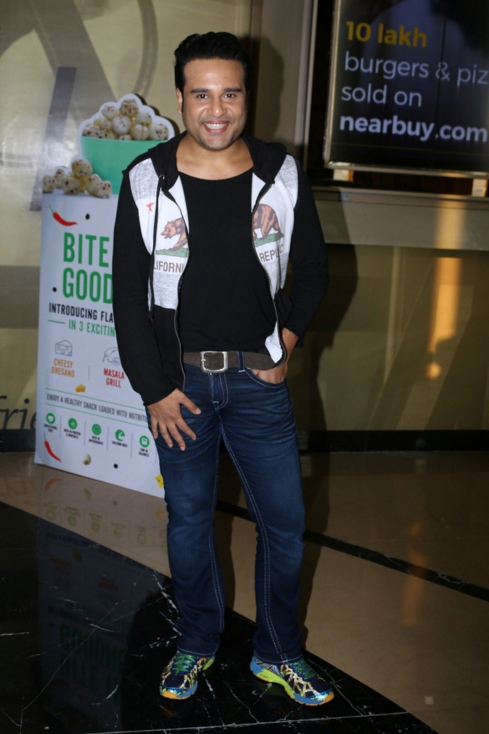 Mumbai:  Actor Krishna Abhishek during the trailer launch of film Aa Gaya Hero in Mumbai on Feb 1, 2017. (Photo: IANS)