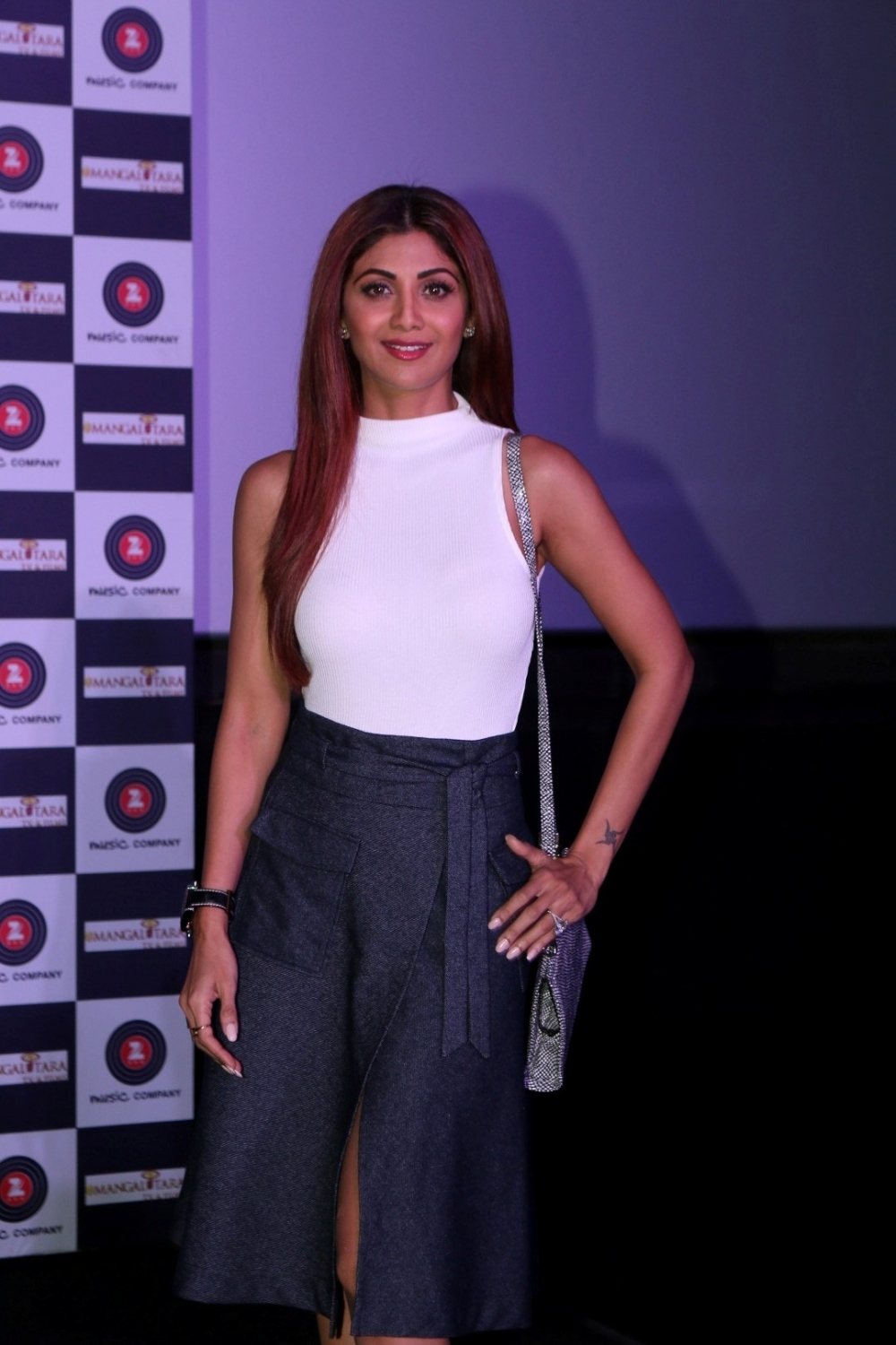 Mumbai:  Actress Shilpa Shetty during the trailer launch of film Aa Gaya Hero in Mumbai on Feb 1, 2017. (Photo: IANS)