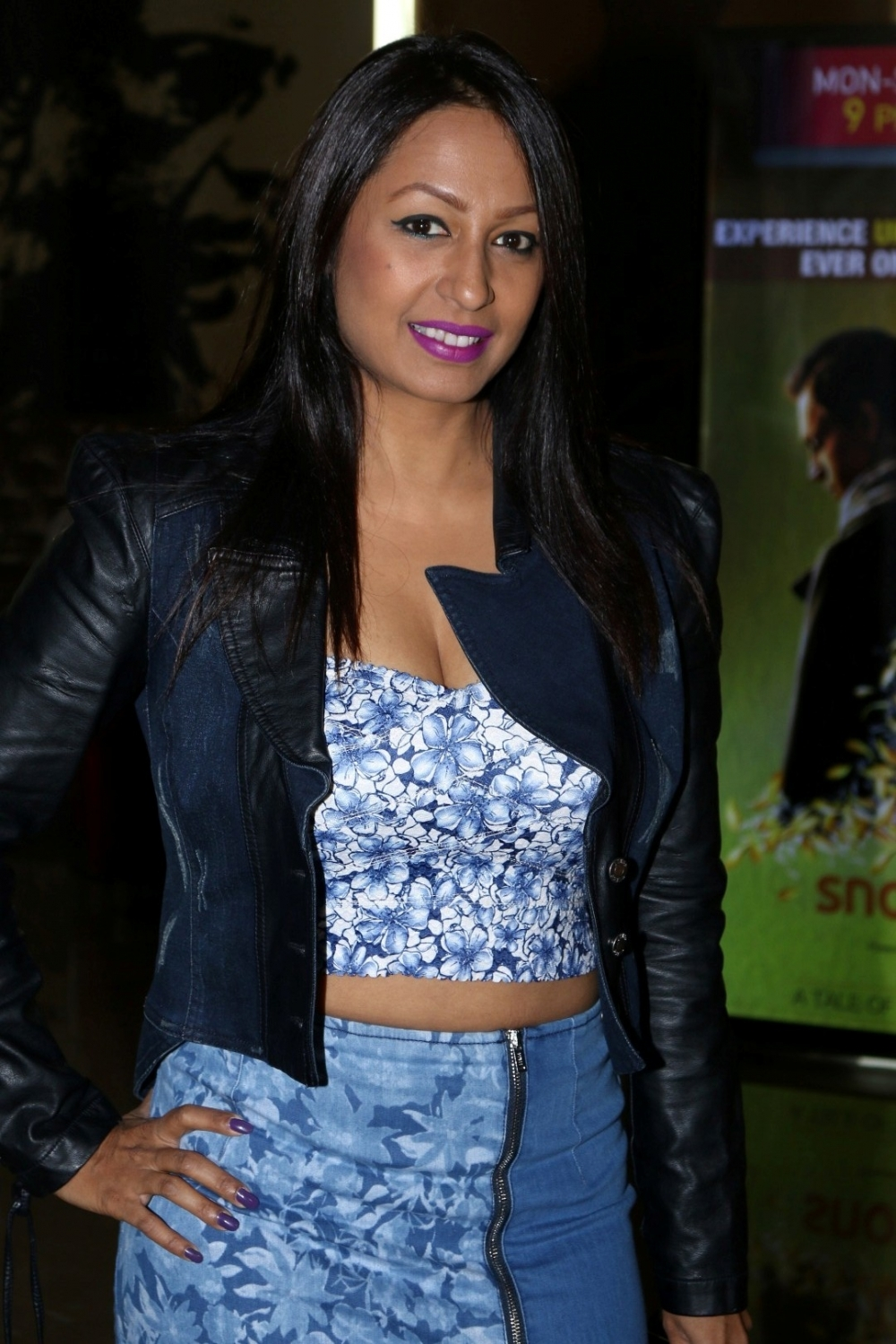 Mumbai:  Actress Kashmira Shah during the trailer launch of film Aa Gaya Hero in Mumbai on Feb 1, 2017. (Photo: IANS)