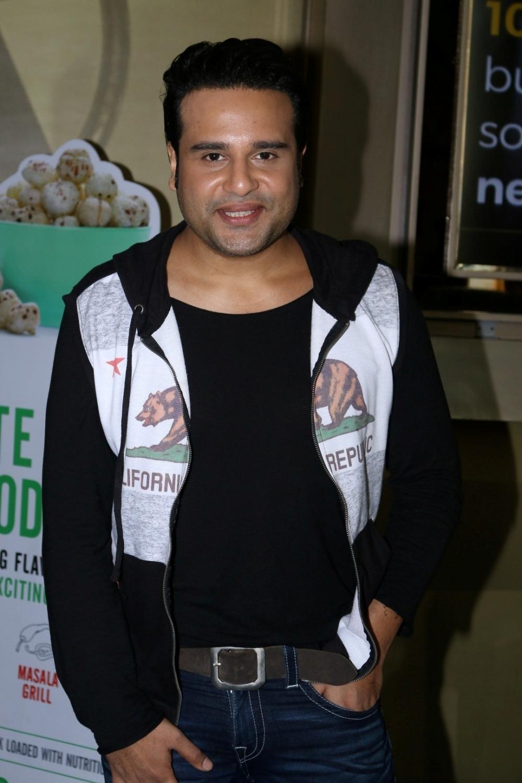 Mumbai:  Actor Krishna Abhishek during the trailer launch of film Aa Gaya Hero in Mumbai on Feb 1, 2017. (Photo: IANS)