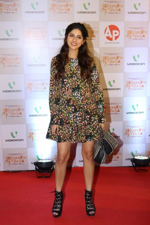 Mumbai: Actress Sapna Pabbi during the screening of film Kung Fu Yoga in Mumbai on Feb 2, 2017. (Photo: IANS)