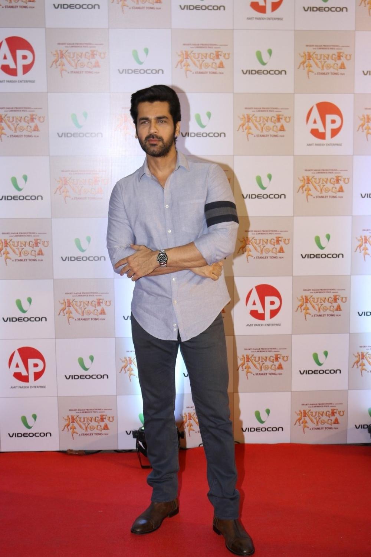 Mumbai: Actor Arjan Bajwa during the screening of film Kung Fu Yoga in Mumbai on Feb 2, 2017. (Photo: IANS)