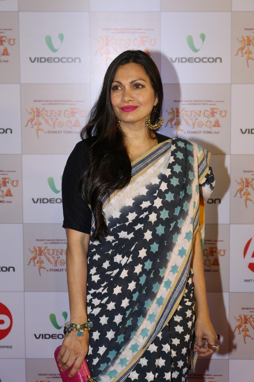 Mumbai: Actress Maria Goretti during the screening of film Kung Fu Yoga in Mumbai on Feb 2, 2017. (Photo: IANS)