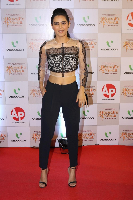 Mumbai: Actress Madhurima Tuli during the screening of film Kung Fu Yoga in Mumbai on Feb 2, 2017. (Photo: IANS)