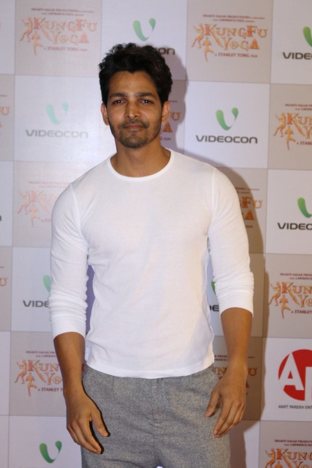 Mumbai: Actor Harshvardhan Rane during the screening of film Kung Fu Yoga in Mumbai on Feb 2, 2017. (Photo: IANS)