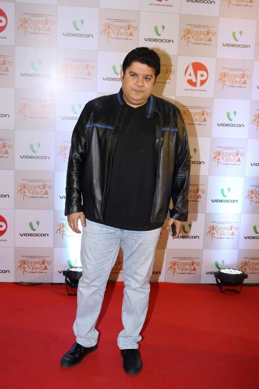 Mumbai: Filmmaker Sajid Khan during the screening of film Kung Fu Yoga in Mumbai on Feb 2, 2017. (Photo: IANS)
