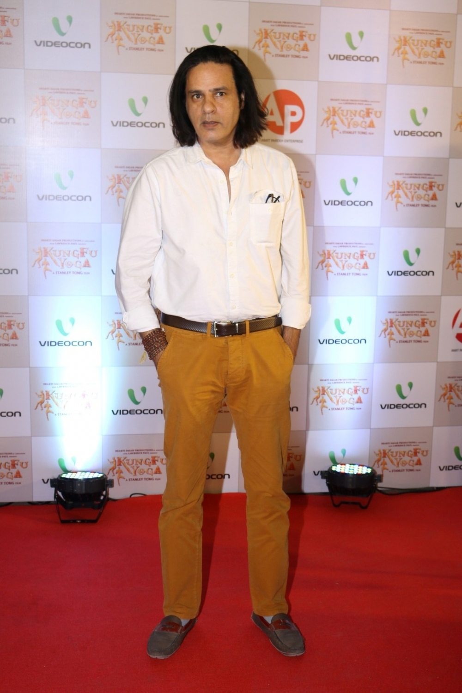 Mumbai: Actor Rahul Roy during the screening of film Kung Fu Yoga in Mumbai on Feb 2, 2017. (Photo: IANS)