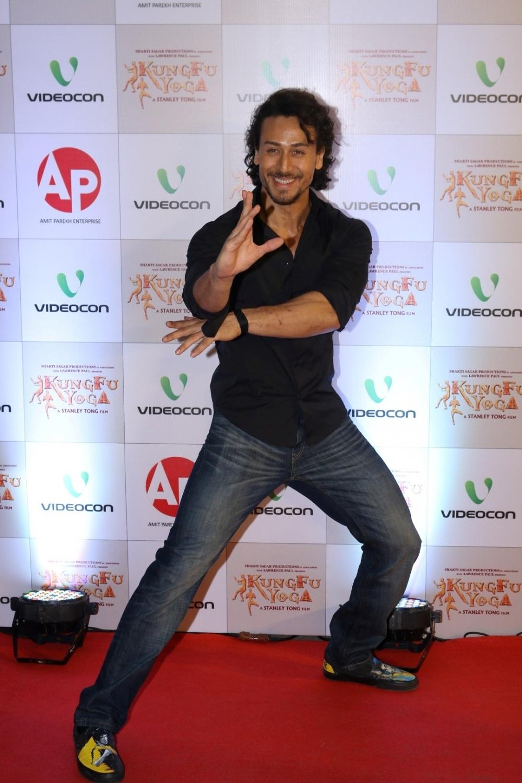 Mumbai: Actor Tiger Shroff during the screening of film Kung Fu Yoga in Mumbai on Feb 2, 2017. (Photo: IANS)