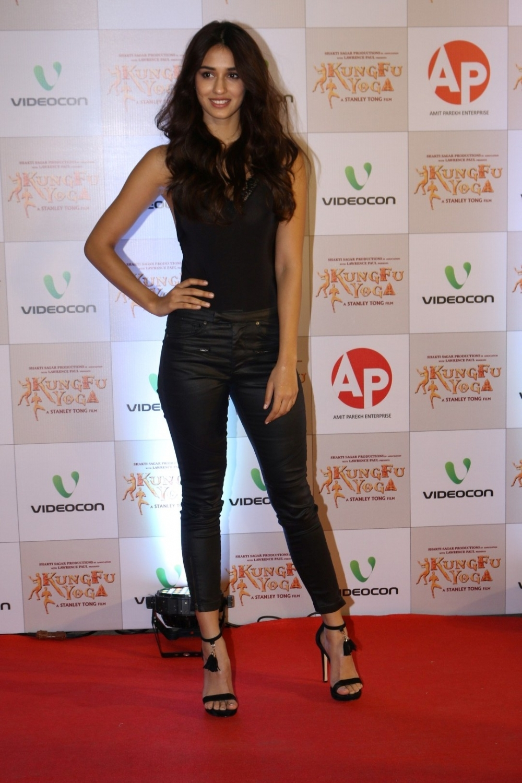 Mumbai: Actress Disha Patani during the screening of film Kung Fu Yoga in Mumbai on Feb 2, 2017. (Photo: IANS)