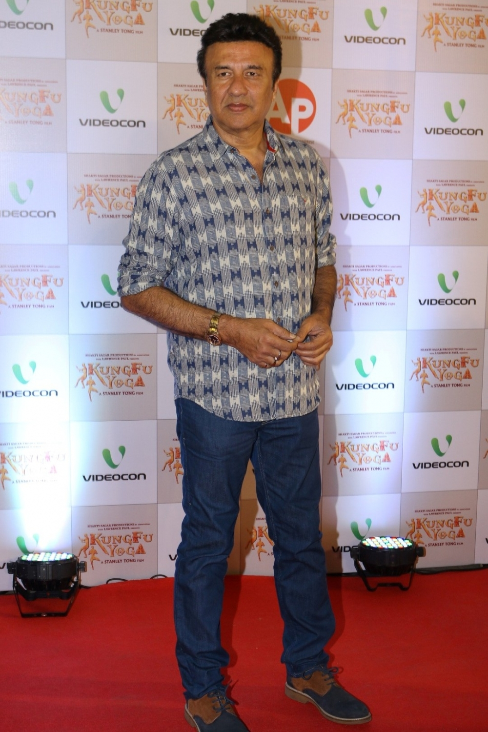 Mumbai: Singer Anu Malik during the screening of film Kung Fu Yoga in Mumbai on Feb 2, 2017. (Photo: IANS)