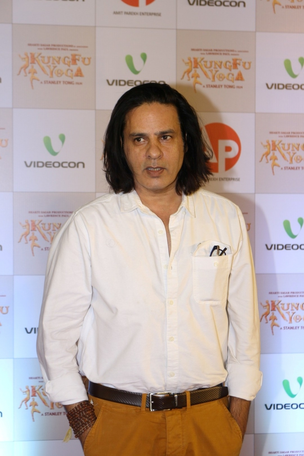Mumbai: Actor Rahul Roy during the screening of film Kung Fu Yoga in Mumbai on Feb 2, 2017. (Photo: IANS)