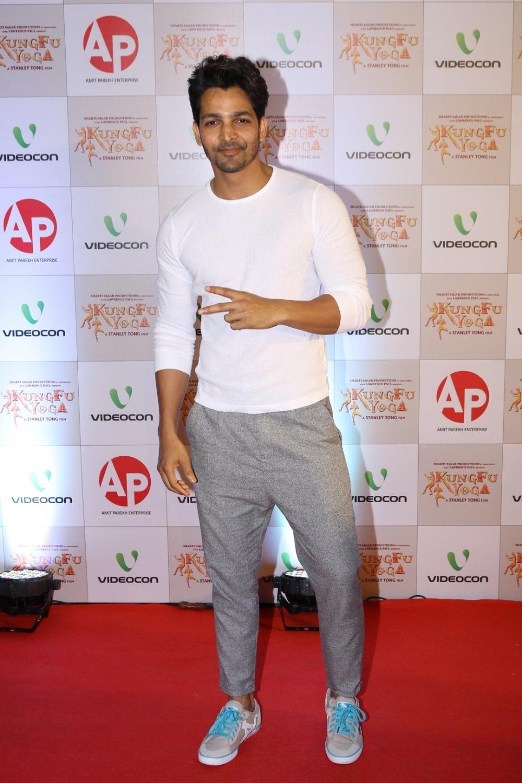 Mumbai: Actor Harshvardhan Rane during the screening of film Kung Fu Yoga in Mumbai on Feb 2, 2017. (Photo: IANS)