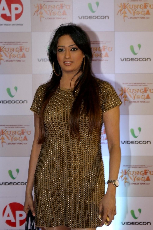 Mumbai: Actor Brinda Parekh during the screening of film Kung Fu Yoga in Mumbai on Feb 2, 2017. (Photo: IANS)
