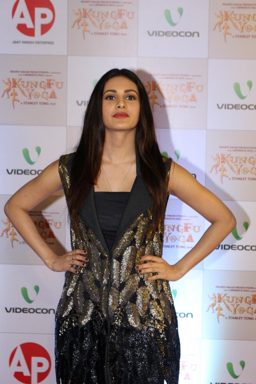 Mumbai: Actress Amyra Dastur during the screening of film Kung Fu Yoga in Mumbai on Feb 2, 2017. (Photo: IANS)