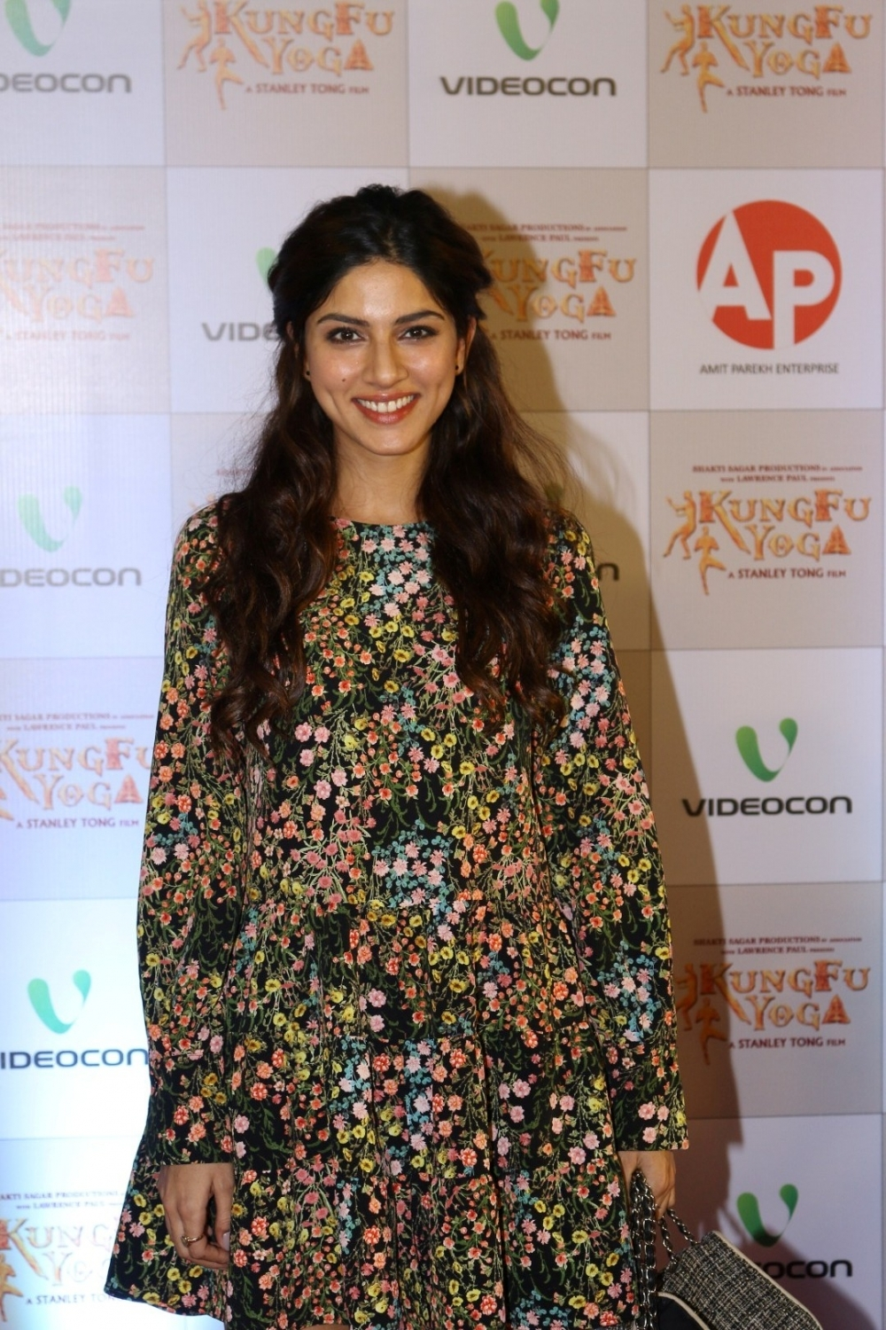 Mumbai: Actress Sapna Pabbi during the screening of film Kung Fu Yoga in Mumbai on Feb 2, 2017. (Photo: IANS)