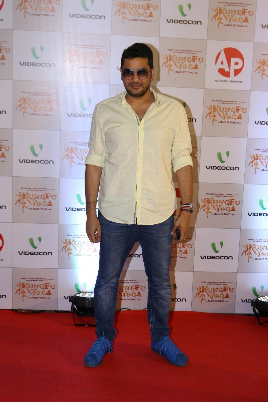 Mumbai: Filmmaker Mukesh Chhabra during the screening of film Kung Fu Yoga in Mumbai on Feb 2, 2017. (Photo: IANS)