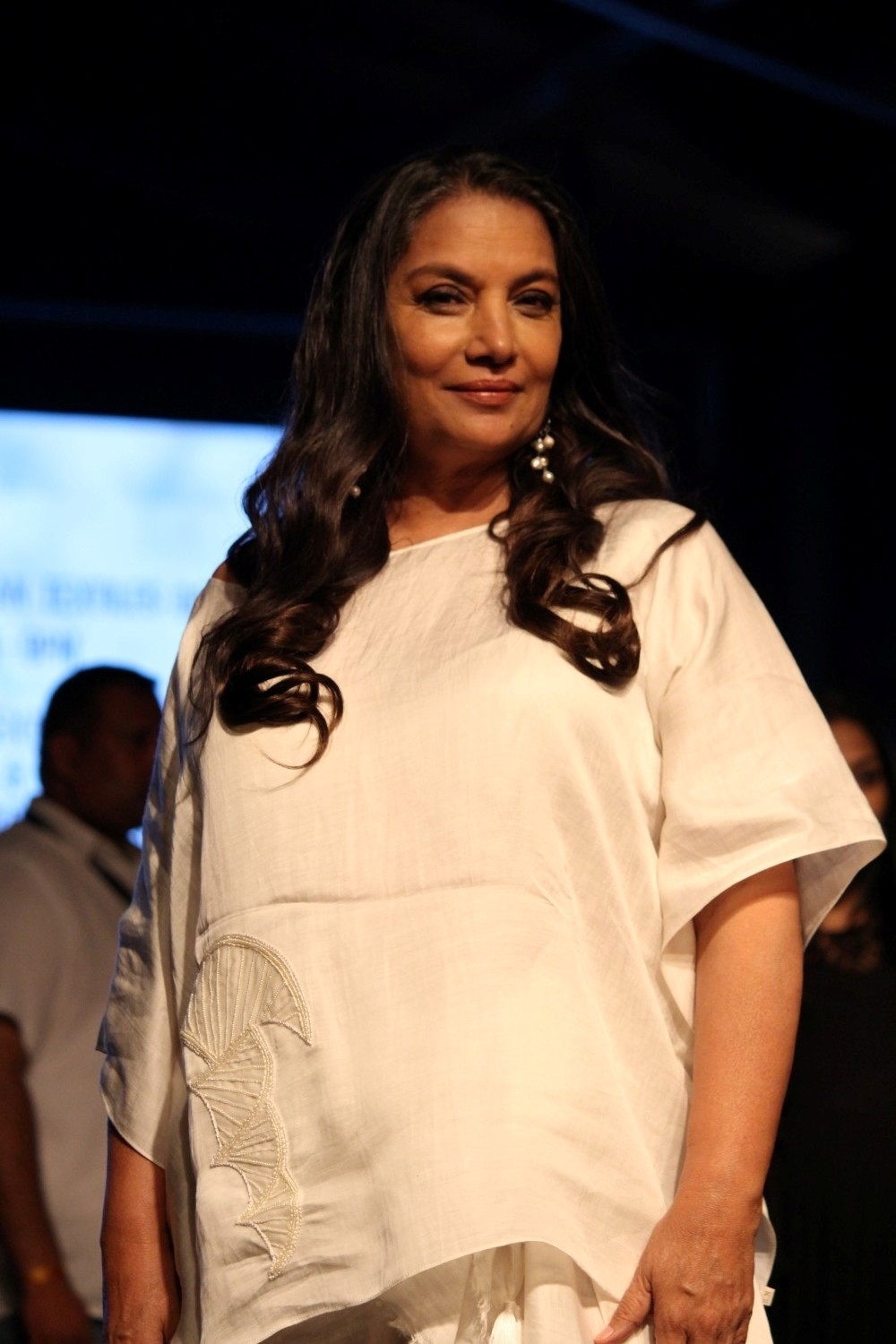 Mumbai: Actress Shabana Azmi during the Lakme Fashion Week Summer/Resort 2017  in Mumbai on Feb 2, 2017. (Photo: (IANS)