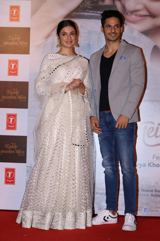Mumbai: Filmmaker Divya Khosla Kumar and actor Mohit Malhotra during the launch of video song Kabhi Yaadon Mein in Mumbai, on Feb 2, 2017. (Photo: IANS)