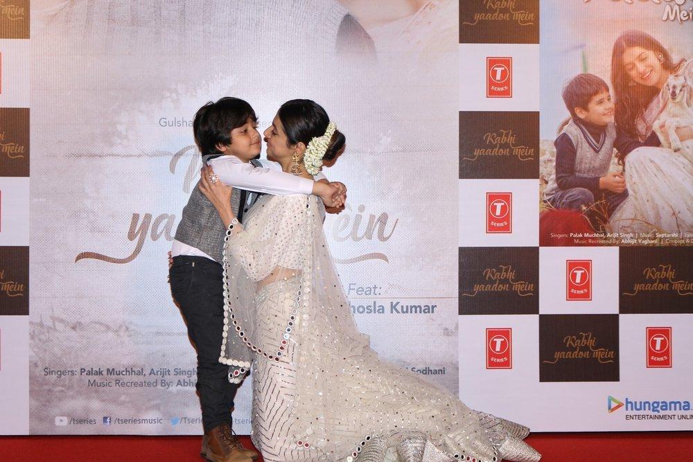 Mumbai: Filmmaker Divya Khosla Kumar and child actor Jason D'Souza during the launch of video song Kabhi Yaadon Mein in Mumbai, on Feb 2, 2017. (Photo: IANS)