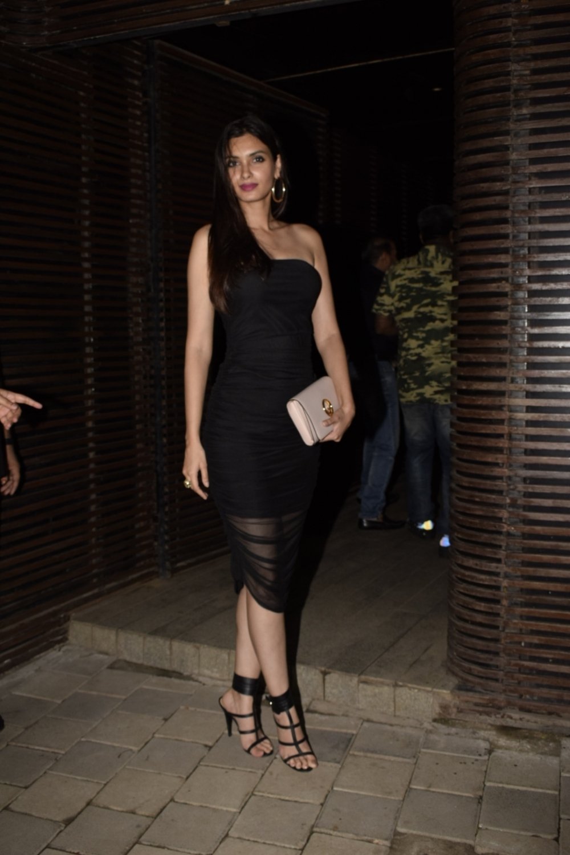 Mumbai: Actress Diana Penty at director Anand L Rai's birthday celebration in Mumbai on June 27, 2018. (Photo: IANS)