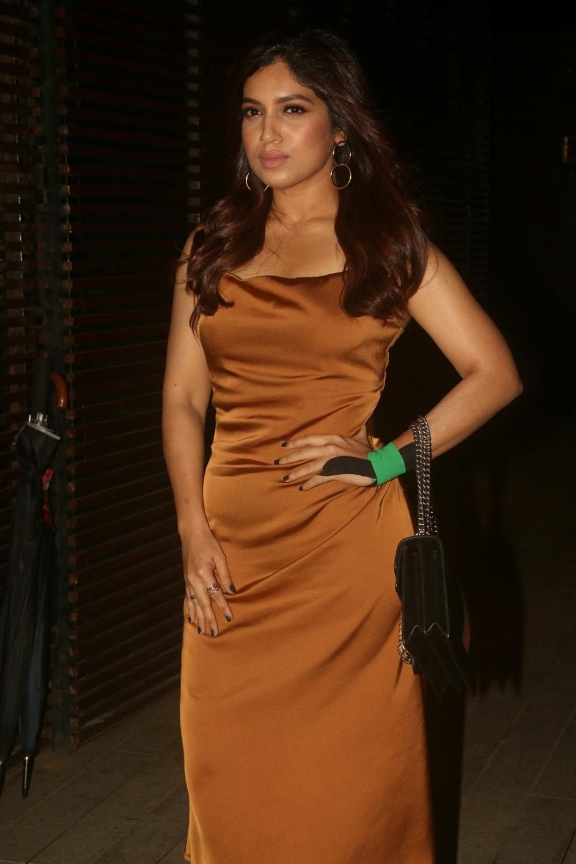 Mumbai: Actress Bhumi Pednekar at director Anand L Rai's birthday celebration in Mumbai on June 27, 2018. (Photo: IANS)