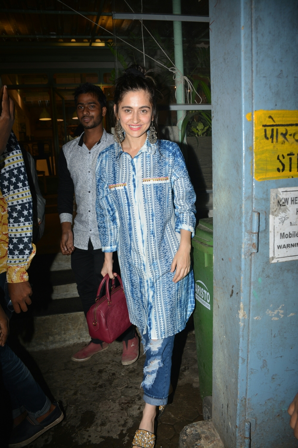 Mumbai: Actress Sanjeeda Shaikh seen at Mumbai's Bandra on July 29, 2018. (Photo: IANS)