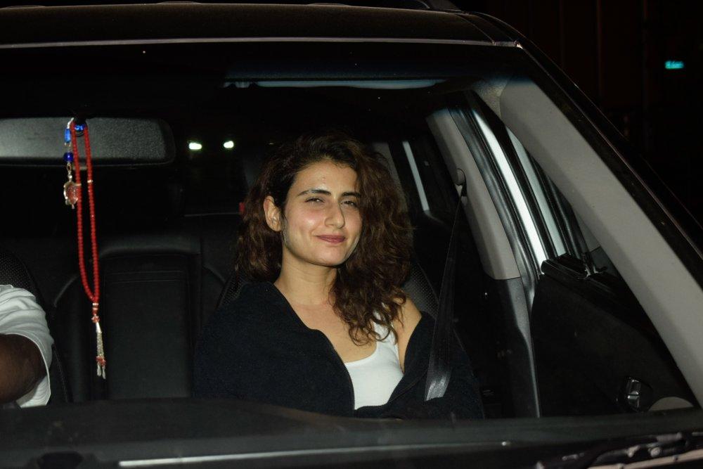 "Mumbai: Actress Fatima Sana Shaikh at the special screening of upcoming film ""Manmarziyaan"" in Mumbai on Sept 12, 2018. (Photo: IANS)"