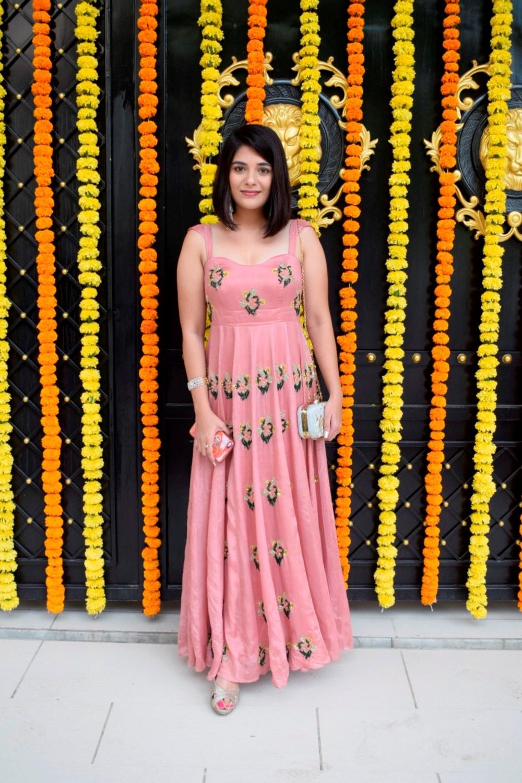 Mumbai:  Actress Pooja Gor at producer Ekta Kapoor's residence for Ganpati Celebrations in Mumbai on Sept 16, 2018. (Photo: IANS)