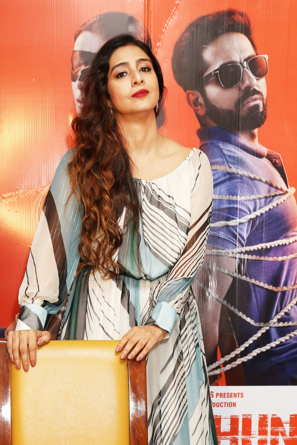 New Delhi: Actress Tabu during a press conference in New Delhi on Oct 4, 2018. (Photo: Amlan Paliwal/IANS)