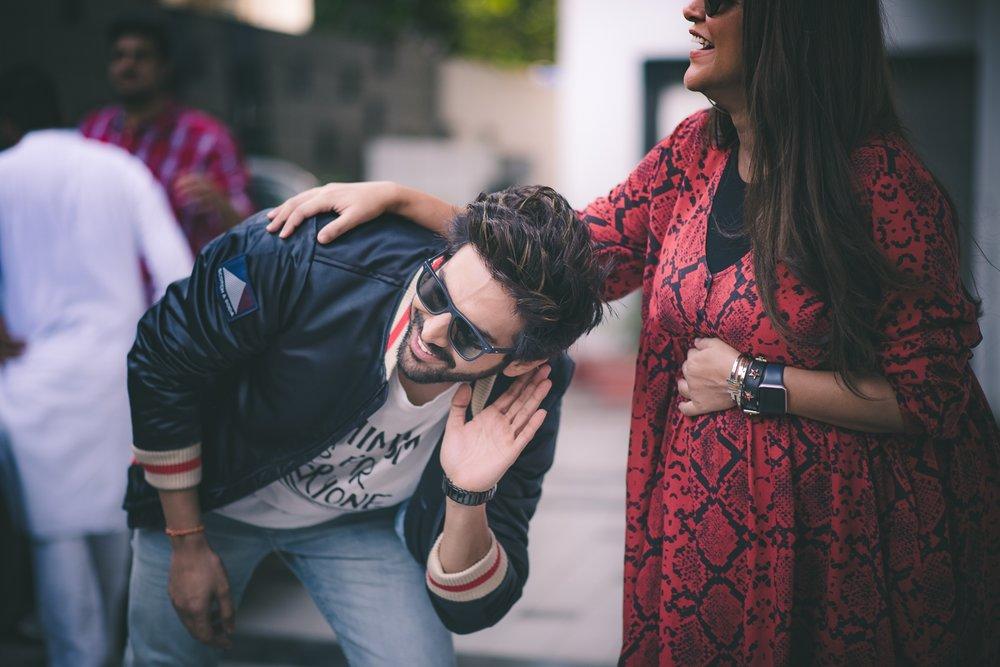 Mumbai: Actors Kartik Aaryan and Neha Dhupia during the recording for #NoFilterNeha Season 3 in Mumbai on Nov 9, 2018. (Photo: IANS)