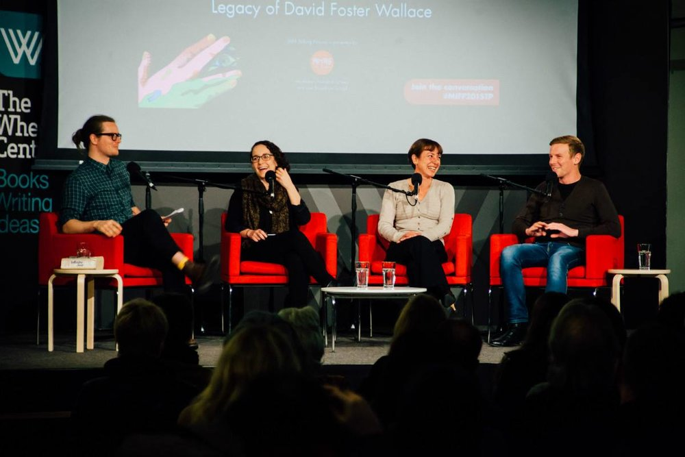 video of 'No Relation: The Impact, Imitators and Legacy of David Foster Wallace' panel discussion I hosted at The Wheeler Centre