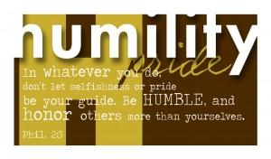 Virtue Humility vprint