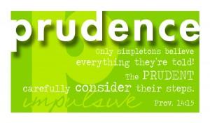Virtue Prudence vprint