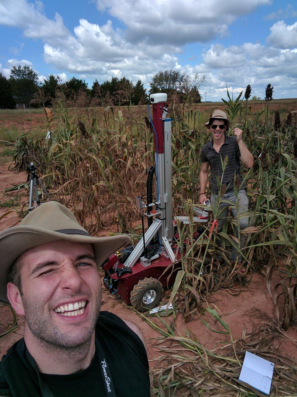 Field testing near Clemson University