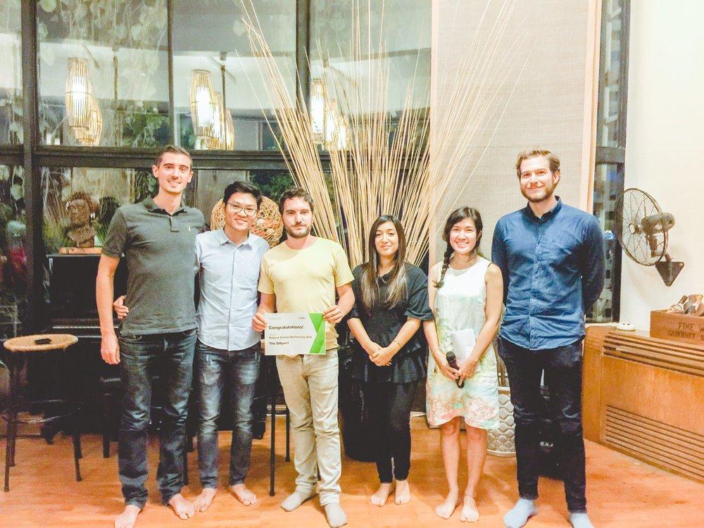 Our winning startup, DApact!