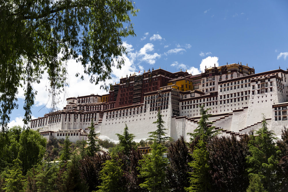 The Potala Palace.