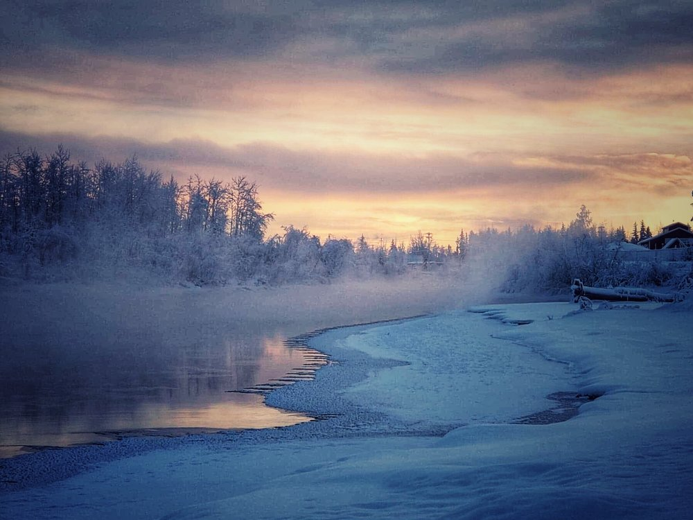 Chena River, Fairbanks, AK
