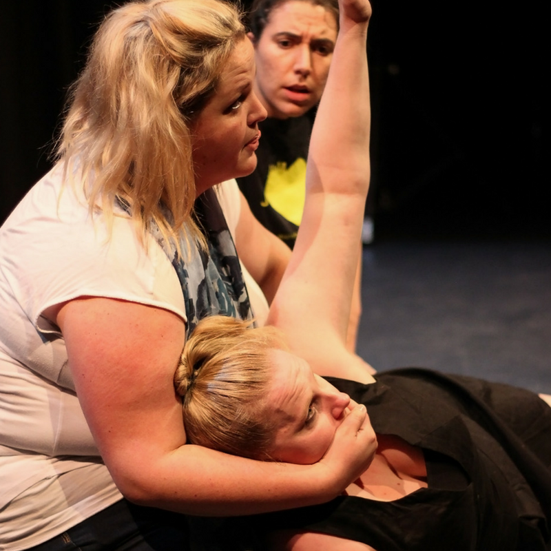 Mind The Gap Festival, Street Theatre Photo: Street Theatre feat. Harriet Boldeman and Hannah Gissain