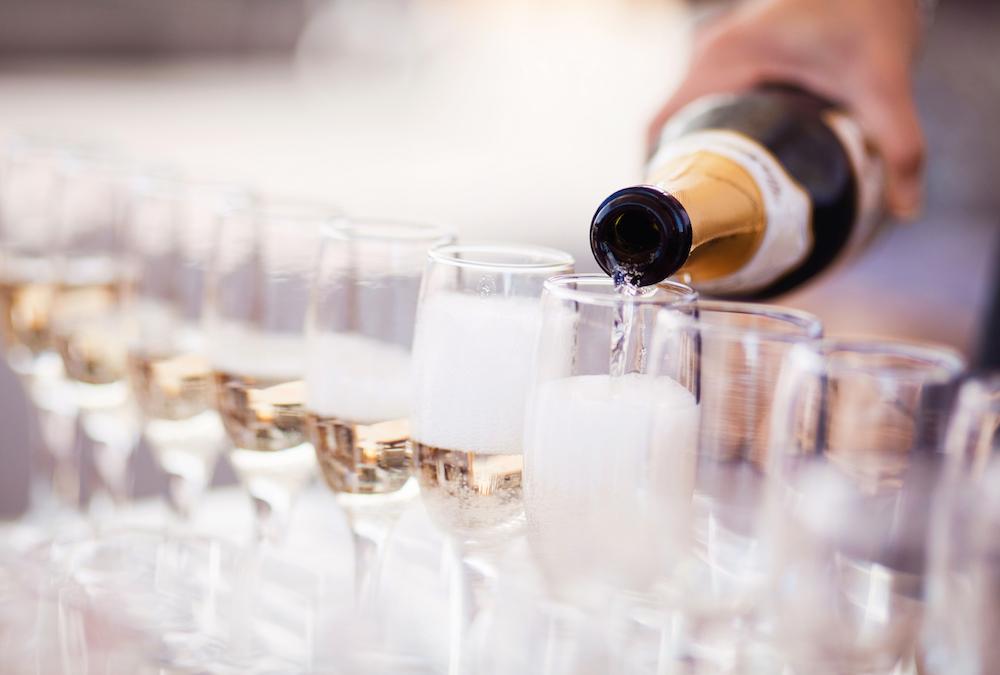Champagne for life at SUNBURN Pool Lounge