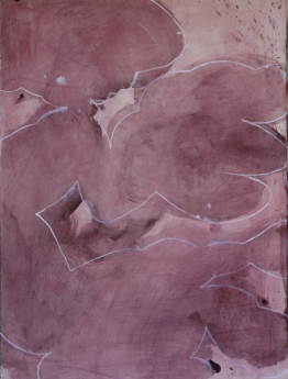 Untitled, 2011; Gouache on paper; 76 x 57 cm