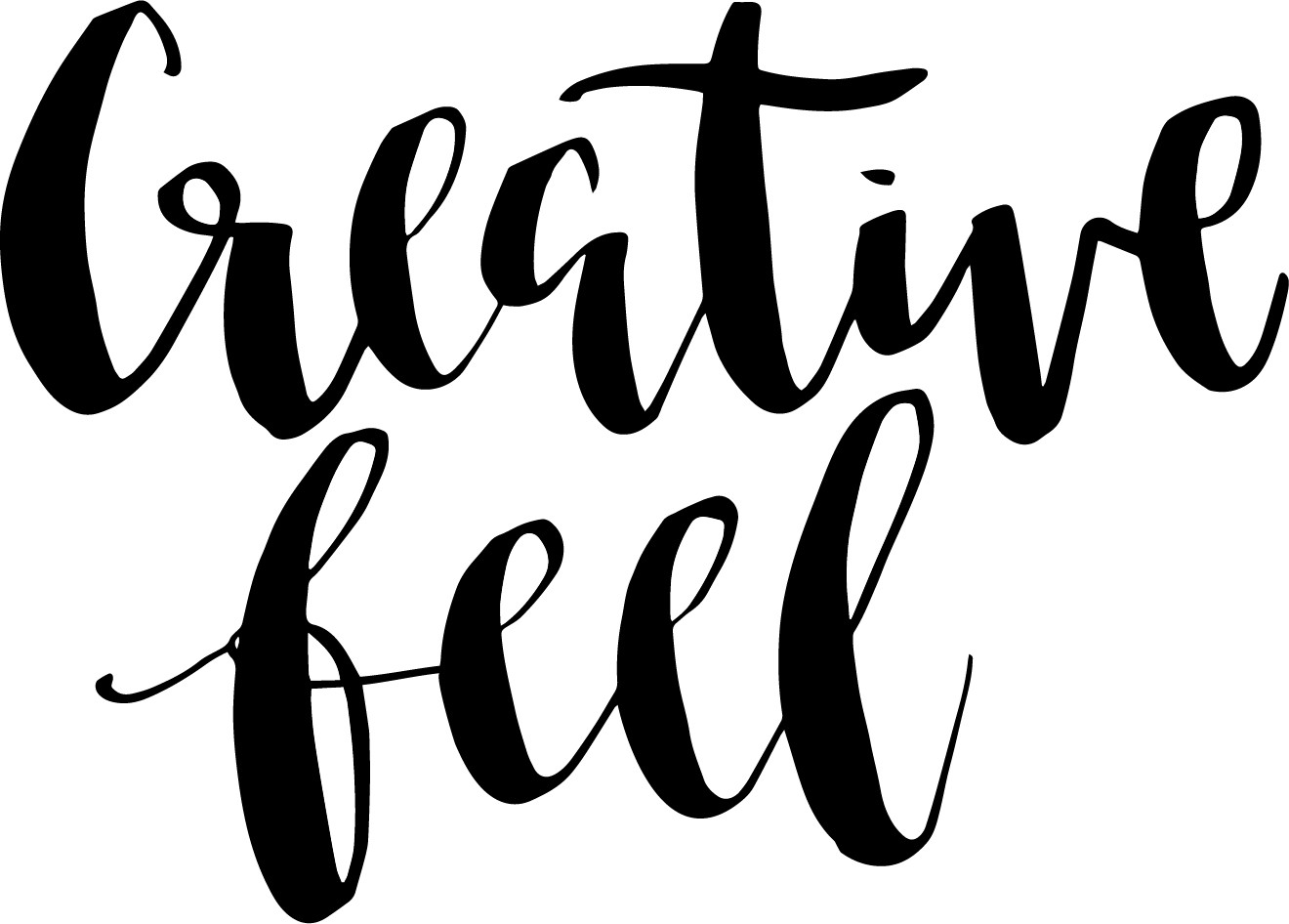 Wholesale Creative Feel Hand Lettered Greeting Cards