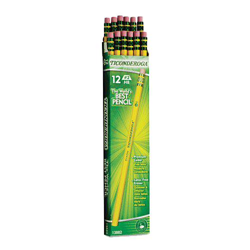 Ticonderoga Wood-Cased Pencils