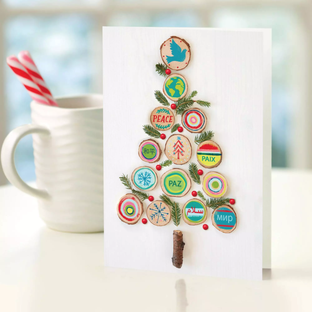 UNICEF Eco Tree Card