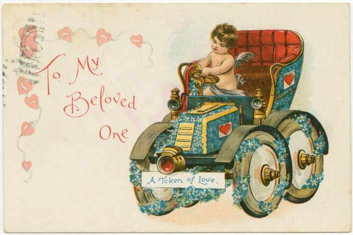 From  A Brief History of Valentine's Day Cards