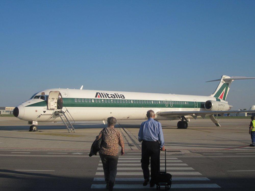 A foto dos meus pais ficou fofa; o voo, nem tanto